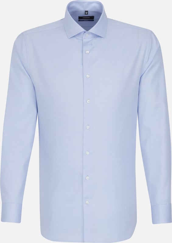 SEIDENSTICKER Hemd in hellblau  Bequem und günstig