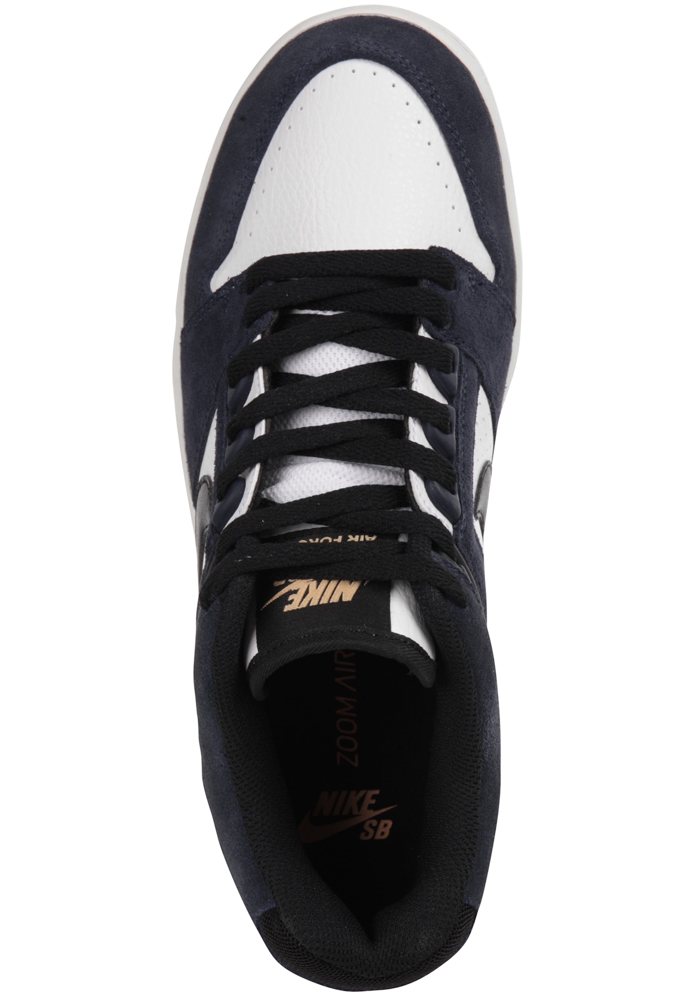 'air Sneaker Force Nike In NavySchwarz Weiß Sb Ii' A5Rj34L