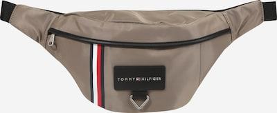 TOMMY HILFIGER Torbica za okrog pasu 'METROPOLITAN' | temno bež / mornarska / rdeča / črna / bela barva, Prikaz izdelka