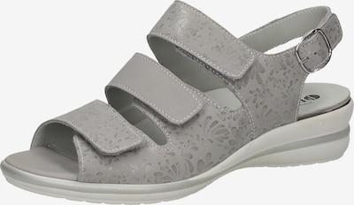 Bama Sandales à lanières en gris, Vue avec produit