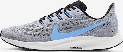 NIKE Chaussure de course 'Pegasus 36' en bleu fumé / bleu-gris, Vue avec produit