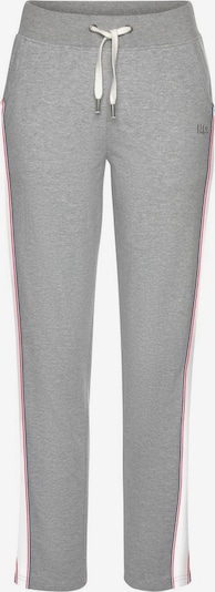 Pantaloni HIS JEANS pe marine / gri amestecat / cranberry / alb, Vizualizare produs
