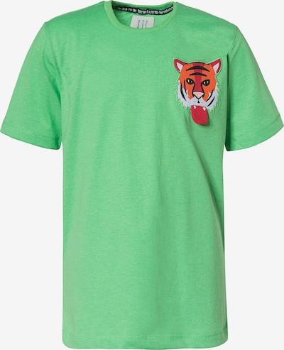 STACCATO T-Shirt in grün / mischfarben, Produktansicht