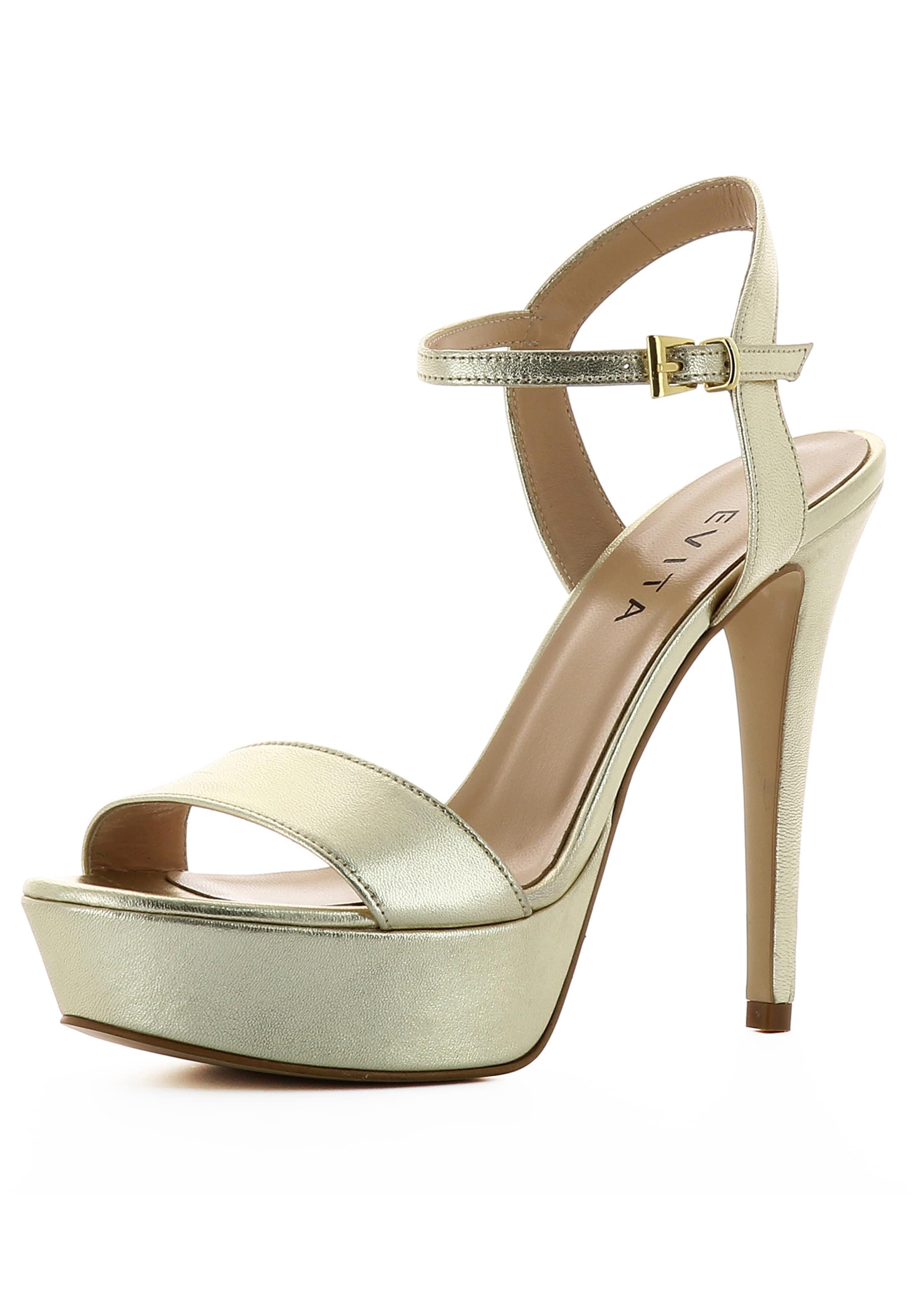 Haltbare Mode billige Schuhe EVITA   Sandalette Schuhe Gut getragene Schuhe