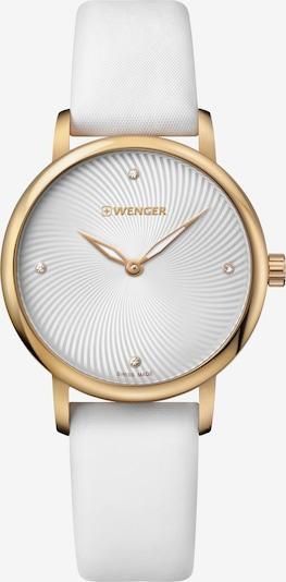 WENGER Uhr 'Urban Donnissima' in gold / weiß, Produktansicht