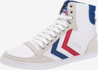 Hummel Sneaker high en beige / blau / rot / weiß, Vue avec produit