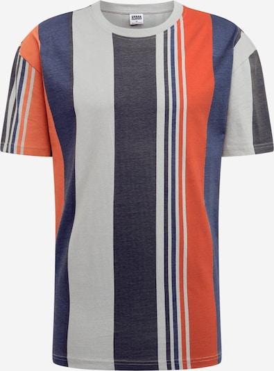 Urban Classics Majica | modra / siva / oranžna barva, Prikaz izdelka