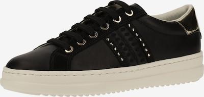 GEOX Sneaker in schwarz / silber, Produktansicht