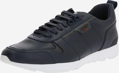 Sneaker low 'Hybrid Runn lt' HUGO pe albastru închis: Privire frontală