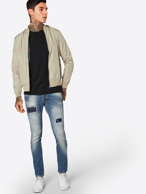 JACK & JONES JONES JONES Jeans 'JJIGLENN JJICON BL 817' in Blau denim  Mode neue Kleidung 4fc1fd