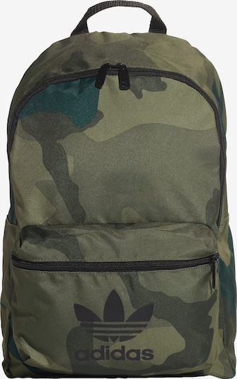 ADIDAS ORIGINALS Rucksack 'CAM CL' in khaki / oliv / dunkelgrün, Produktansicht