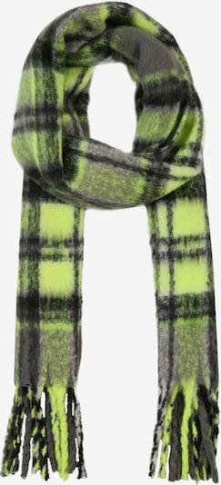 ONLY Szalik 'ROSEMARY' w kolorze neonowa zieleń / czarnym, Podgląd produktu