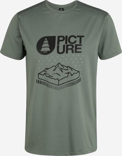 Picture Organic Clothing Shirt in khaki / schwarz, Produktansicht