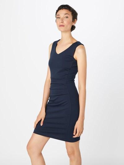 Kaffe Kleid 'Sara' in nachtblau: Frontalansicht
