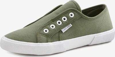 LASCANA Sneaker in oliv, Produktansicht