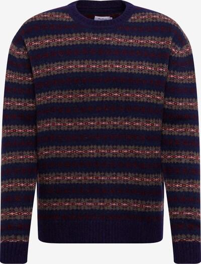 Pepe Jeans Trui 'DEACON' in de kleur Donkergrijs / Gemengde kleuren, Productweergave