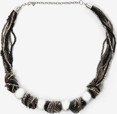 COLLEZIONE ALESSANDRO COLLEZIONE ALESSANDRO Collier »C2593-F01« in schwarz / silber / weiß, Produktansicht