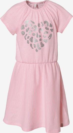 ESPRIT Kleid in pastellpink / silber / weiß, Produktansicht