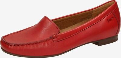 SIOUX Mokassin 'Zalla' in rot, Produktansicht