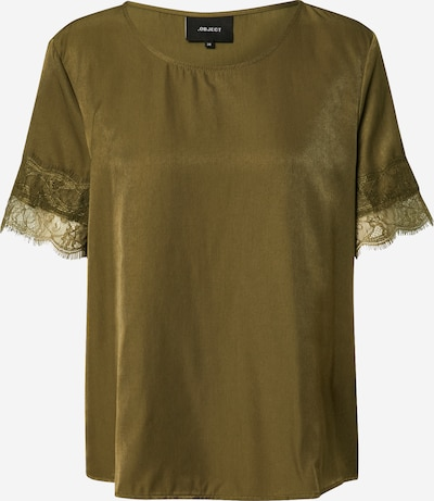 OBJECT Bluse in oliv: Frontalansicht