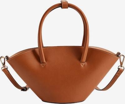 MANGO Handtas 'Hft Gina' in de kleur Bruin, Productweergave