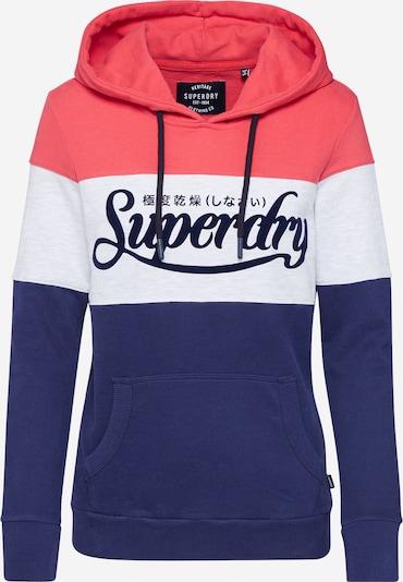 Superdry Bluzka sportowa w kolorze atramentowy / czerwony / białym, Podgląd produktu