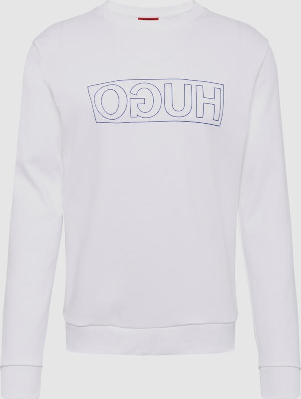 HUGO Sweatshirt 'Dicago-U6' in weiß  Neue Kleidung in dieser Saison