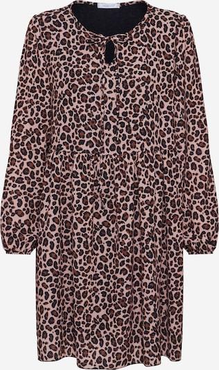 Hailys Kleid ' Rita' in beige / schwarz: Frontalansicht