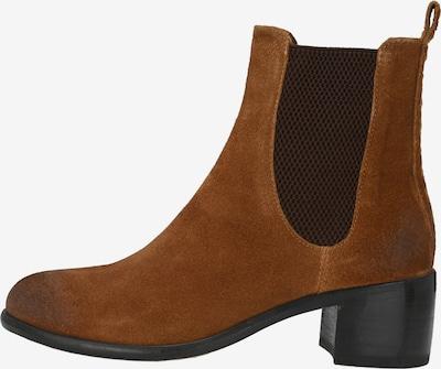 Crickit Chelsea boots in de kleur Cognac, Productweergave