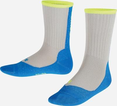 FALKE Socken in blau / neongelb / grau, Produktansicht