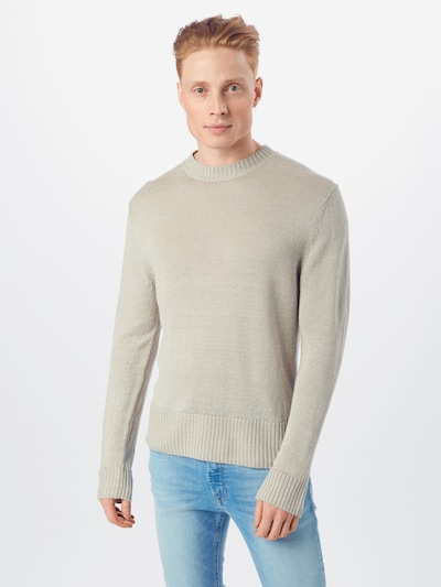 DRYKORN Pullover 'VINCENT' in beige, Modelansicht