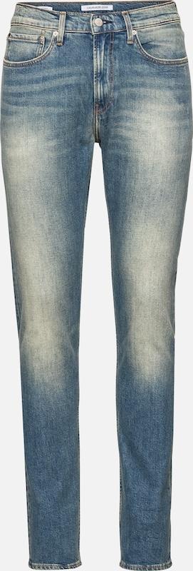 Calvin 016 Denim Skinny' Bleu En Klein 'ckj Jean Jeans 354ALjR