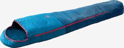 MCKINLEY Kunstfaserschlafsack 'Mu-Schlafsack Caamp Active 5 IDE I' in petrol / rot, Produktansicht