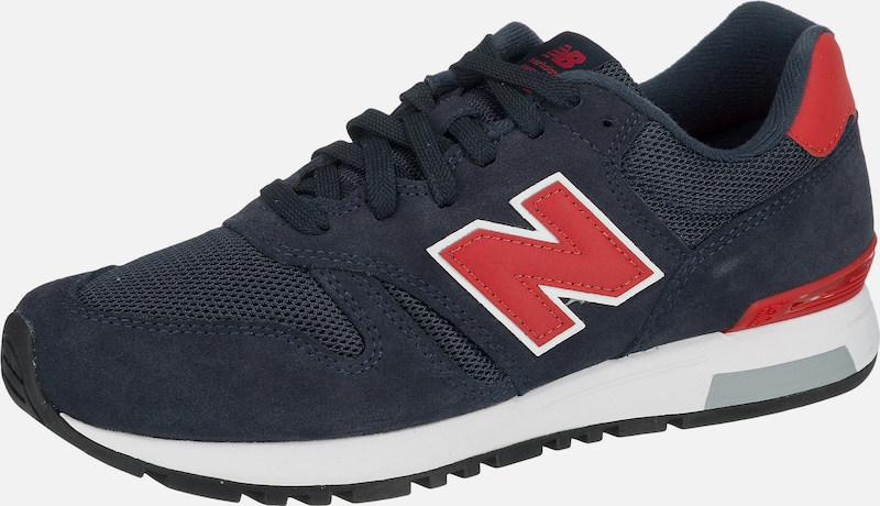 new balance Sneakers 'ML565 D' in blau / rot, Produktansicht