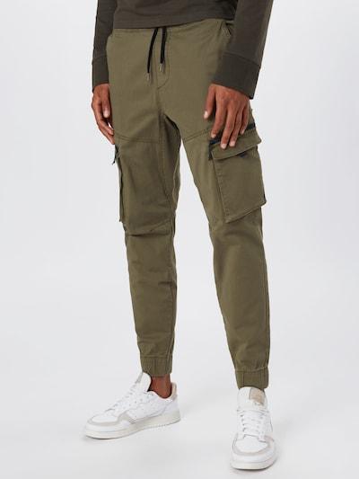 HOLLISTER Hose in navy / khaki, Modelansicht