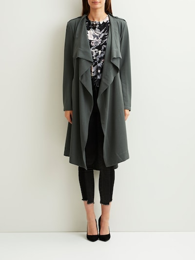 OBJECT Klassische Jacke in grau, Modelansicht