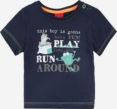 Marškinėliai iš s.Oliver Junior , spalva - turkio spalva / tamsiai mėlyna / balta, Prekių apžvalga