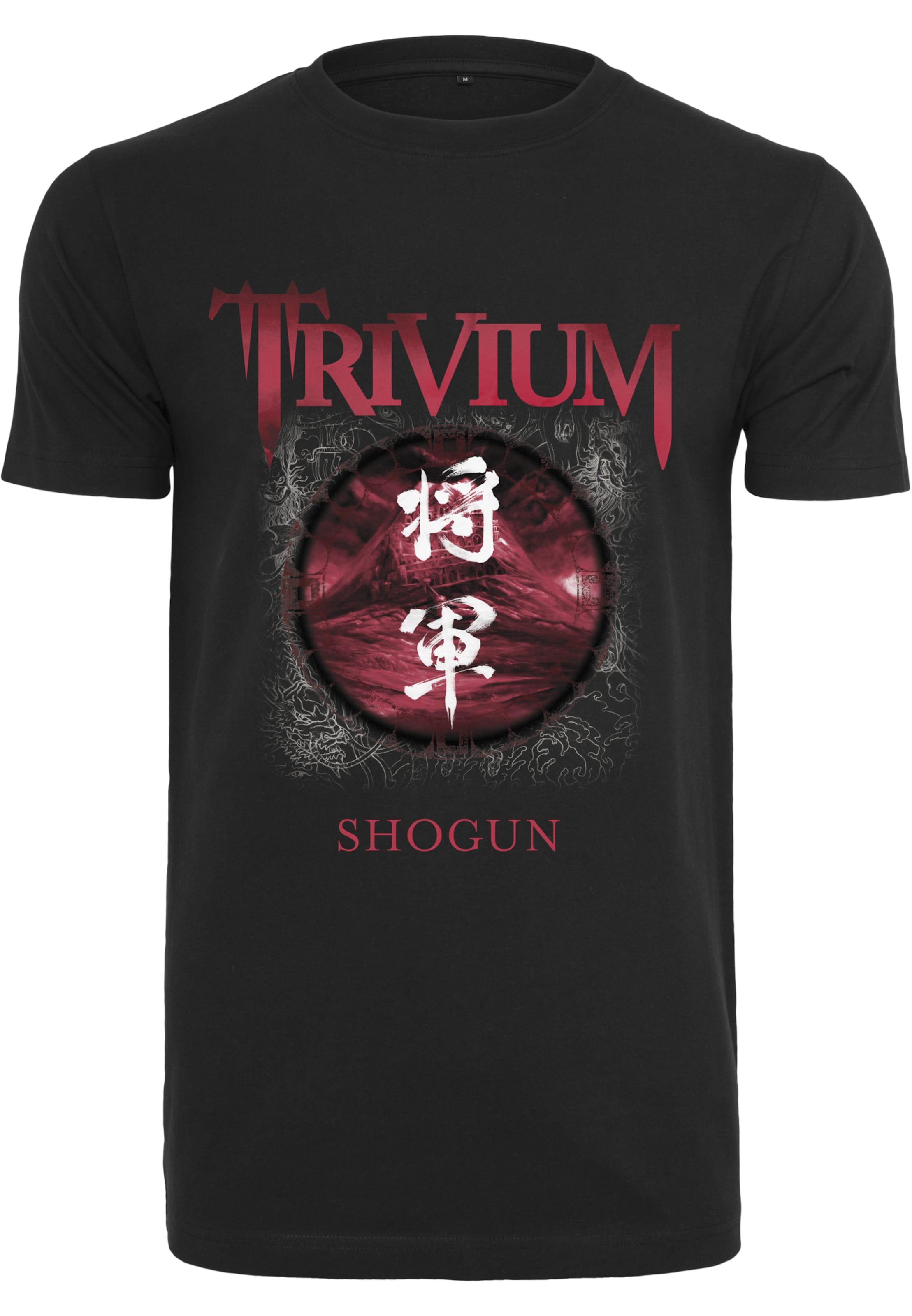 Shogun' Tee Mister T shirt In RotSchwarz 'trivium UzVSpM