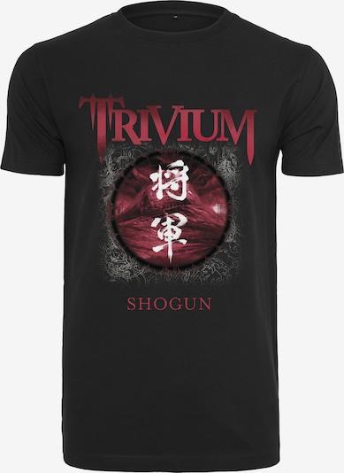 Mister Tee T-Shirt 'Trivium Shogun' in rot / schwarz: Frontalansicht
