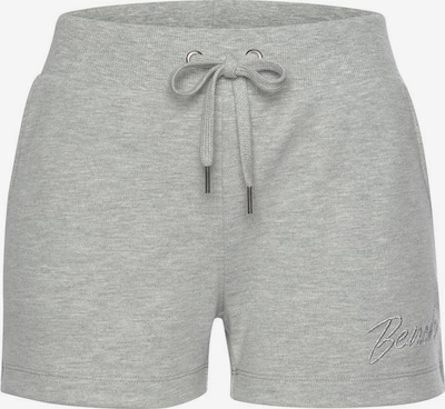 BENCH Shorts in graumeliert, Produktansicht
