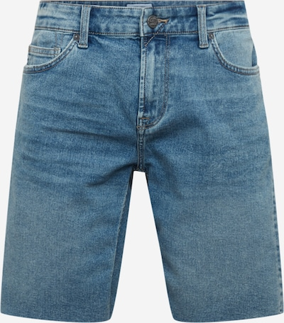 Only & Sons Jeans 'ONSPLY REG RAW HEM ZIP L BLUE PK 5275' in de kleur Blauw denim, Productweergave