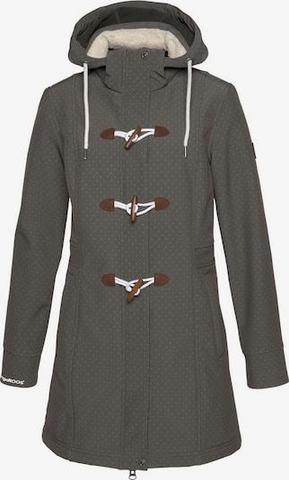 KangaROOS Outdoorjacke in khaki / weiß, Produktansicht