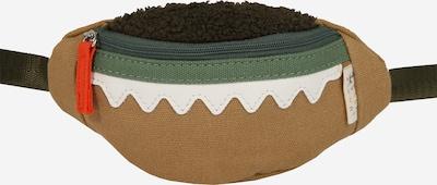 MANGO Gürteltasche 'BOLSO CROCO' in beige / grün / weiß, Produktansicht
