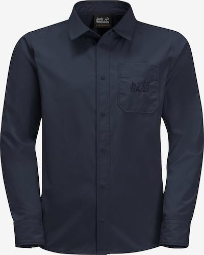 JACK WOLFSKIN Langarmhemd in blau, Produktansicht