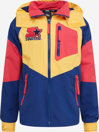 Starter Black Label Prehodna jakna | modra / rumena / rdeča barva, Prikaz izdelka