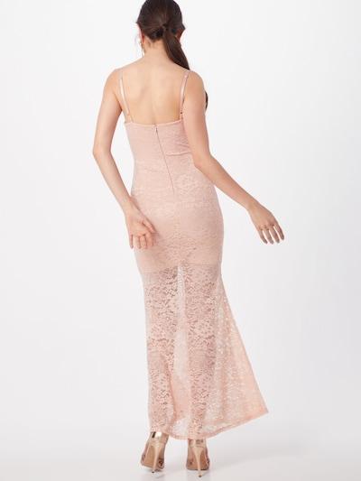 Rochie de vară WAL G. pe roz: Privire spate