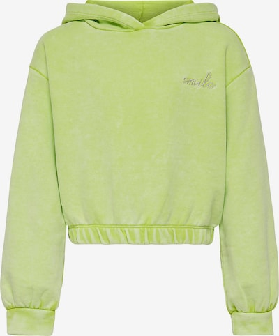 KIDS ONLY Sweatshirt 'Konnea' in goldgelb / apfel, Produktansicht