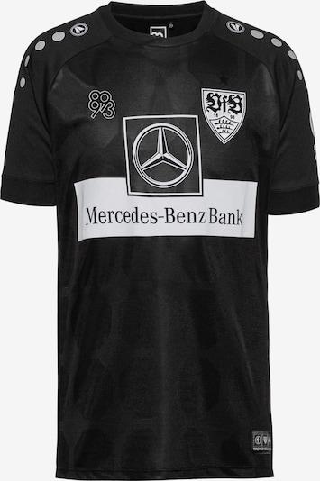 JAKO Fußballtrikot in schwarz, Produktansicht