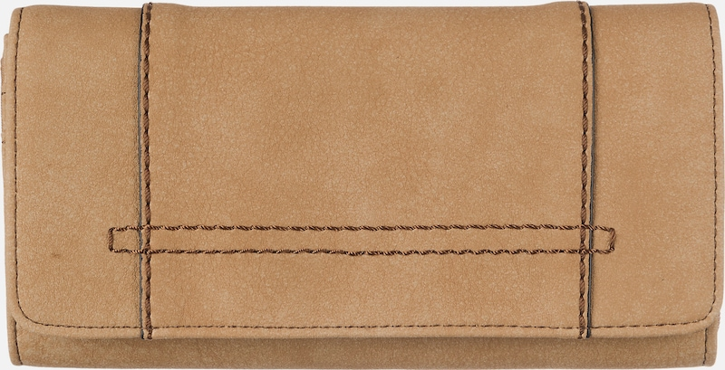 s.Oliver RED LABEL Flap Wallet aus Lederimitat