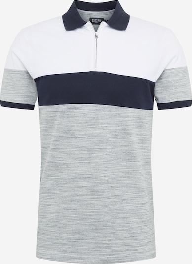 BURTON MENSWEAR LONDON Koszulka 'CS Spacedye' w kolorze niebieski / szary / białym: Widok z przodu